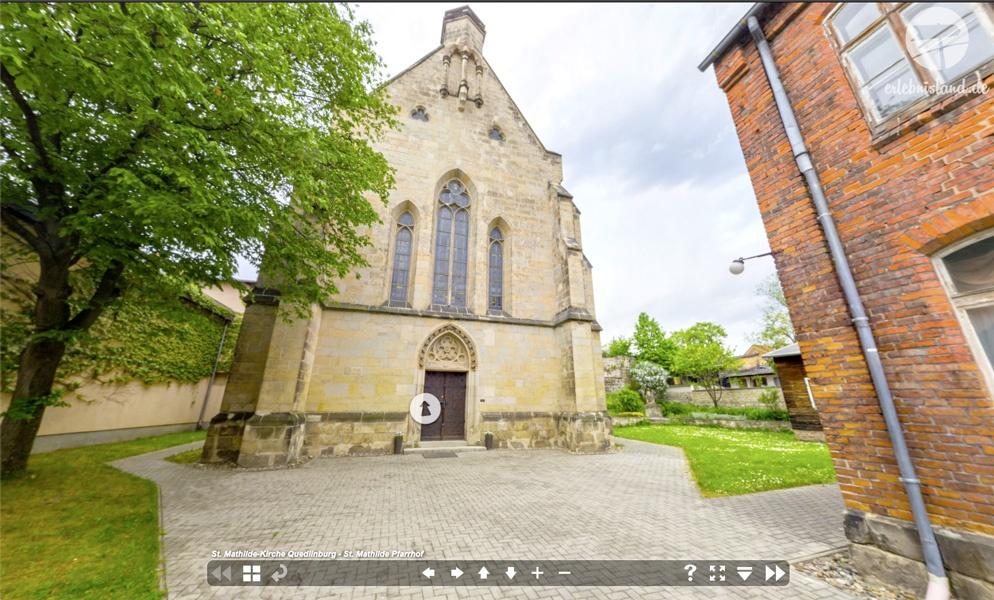 Virtueller Rundgang Sankt Mathilde Quedlinburg
