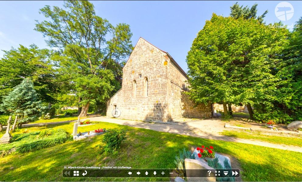 Virtueller Rundgang Sankt Wiperti Quedlinburg